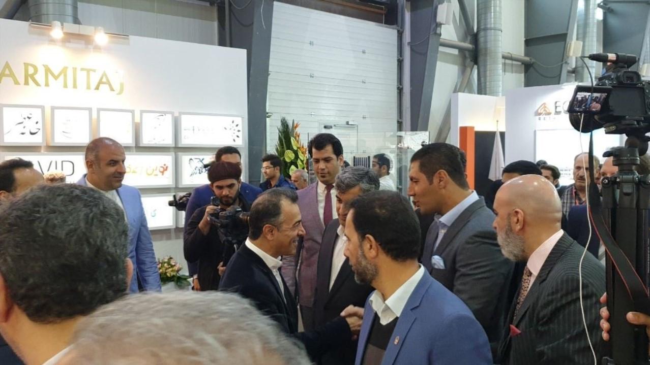 افتتاحیه نمایشگاه ایران ریتیل شو